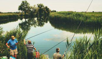 Angeln am Vatertag - mit den besten Kumpels am Lieblingsgewässer