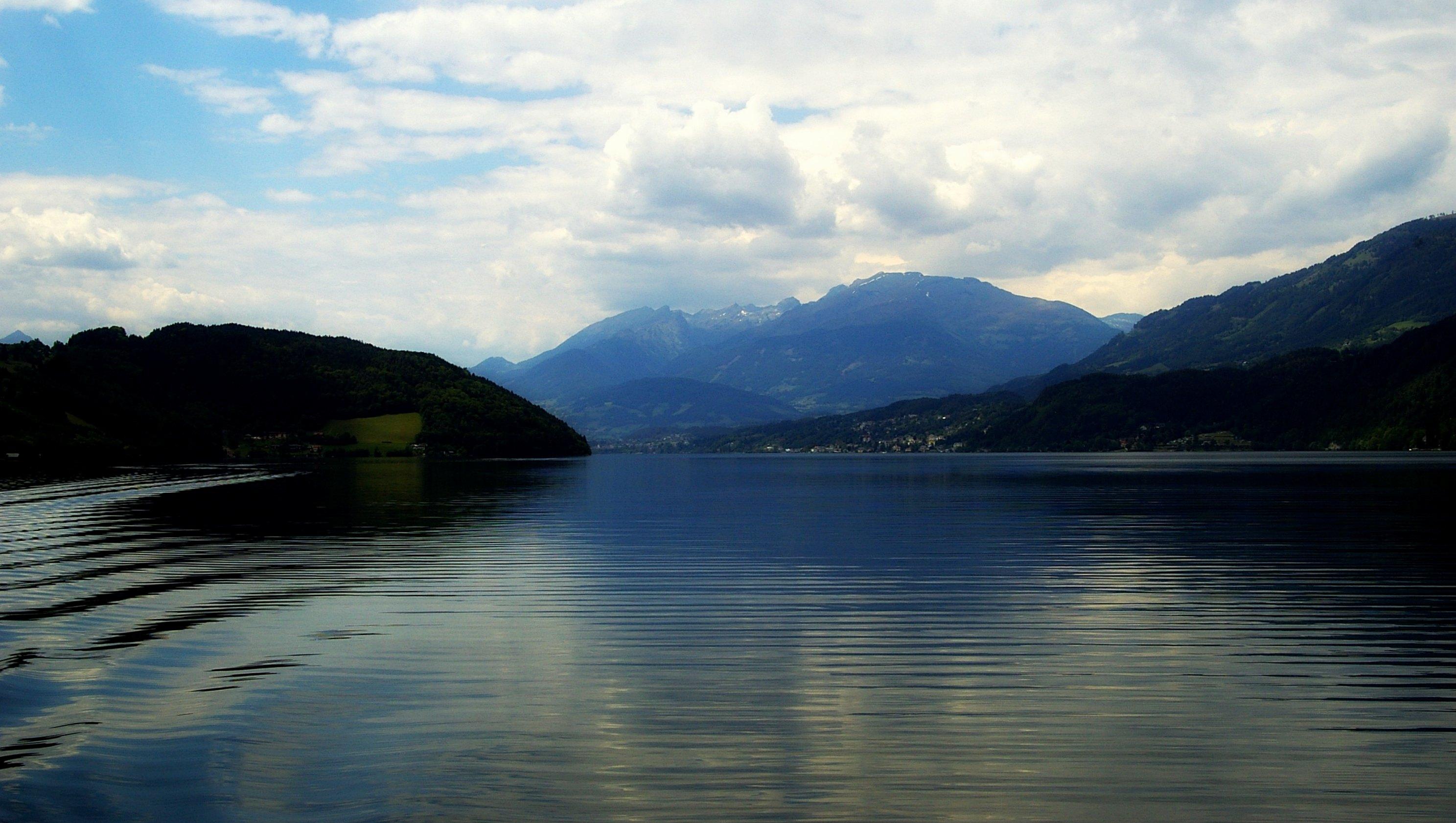 Millstätter See und Berge