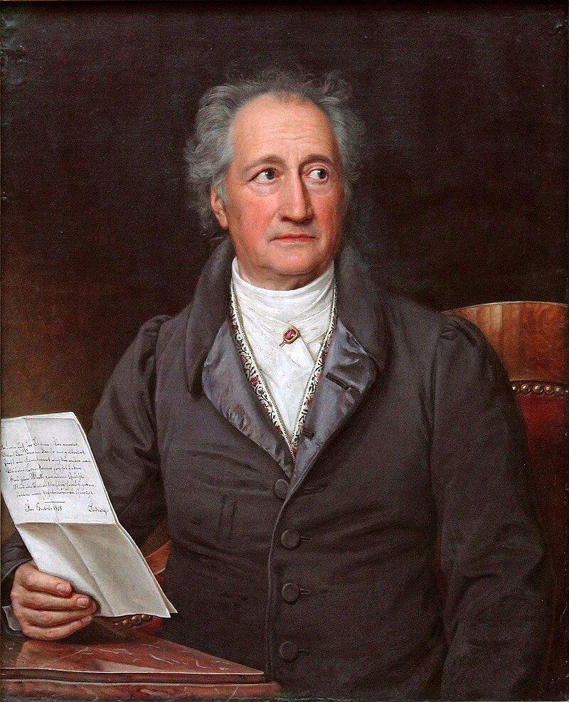 Portrait Johann Wolfgang von Goethe