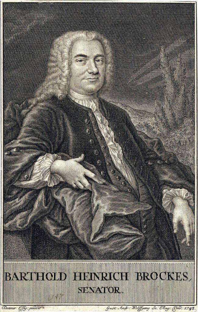 Gemälde Barthold Heinrich Brockes - Angelgedichte
