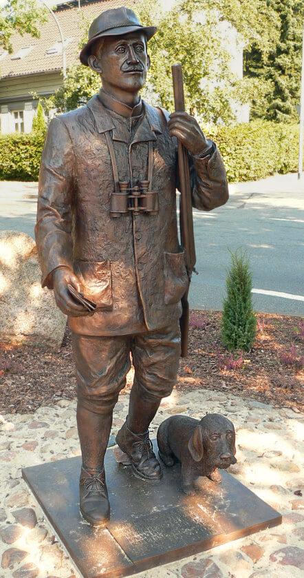 Statue Hermann Löns