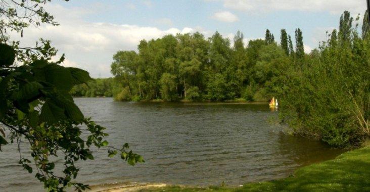 Artenvielfalt beim Angeln am Hegbachsee |
