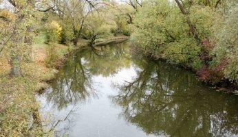 Die Jagst bei Crailsheim