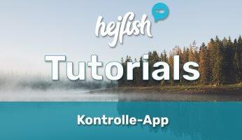 Kontrolle-App Tutorials