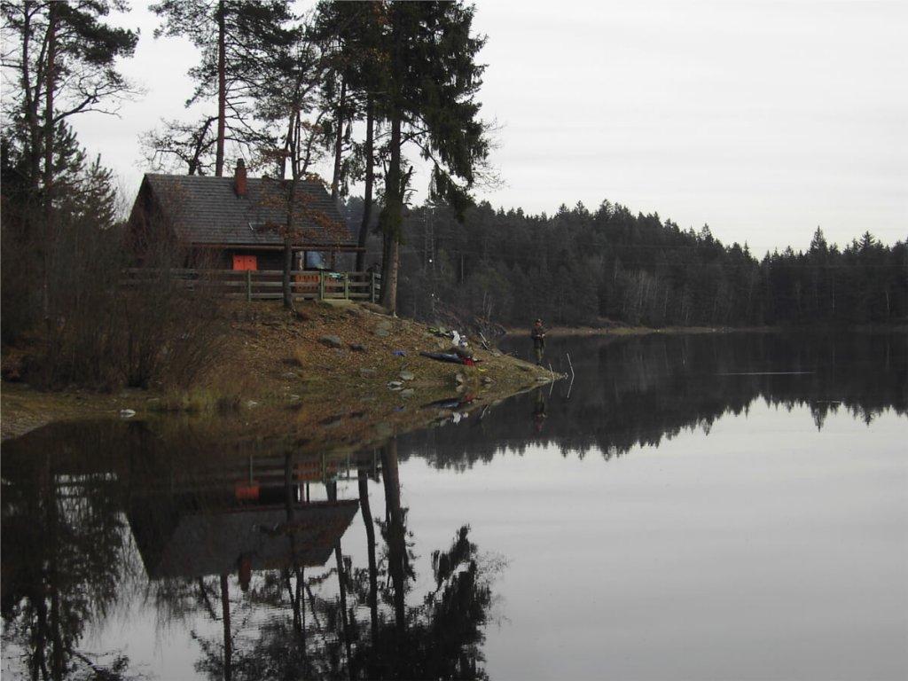 Das Angeln an der Fischerhütte im Forstsee ist nur den Vereinsmitgliedern gestattet.