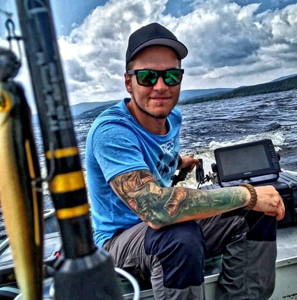 Zander Experte David Joos im Anglertalk bei der hejfish November Challenge