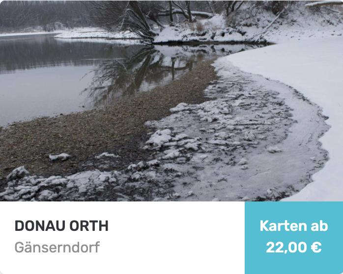 Tageskarten für Donau Orth
