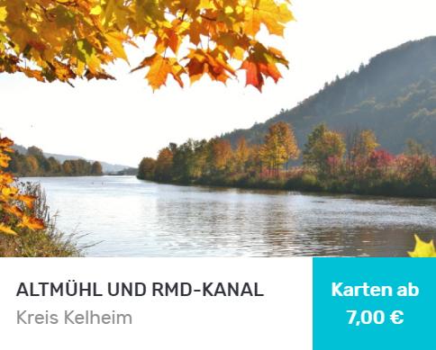 Fluss Altmühl