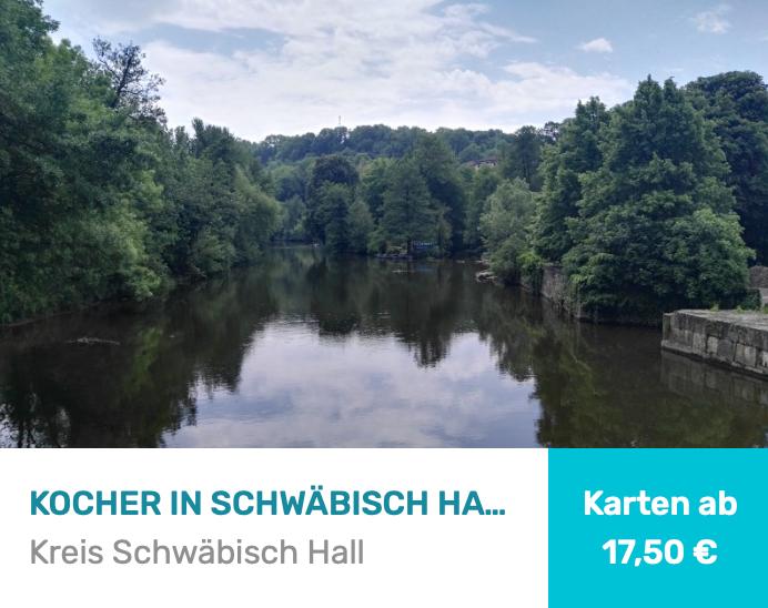 Kocher in Schwäbisch Hall